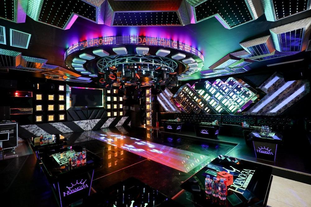 Phòng mini bar tại karaoke Trống Đồng