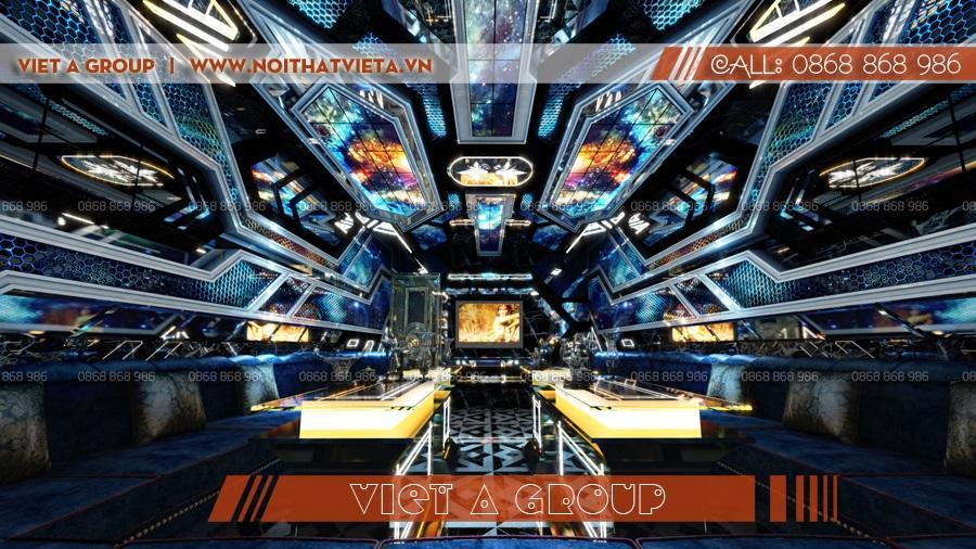Mẫu phòng karaoke hiện đại đẳng cấp 01