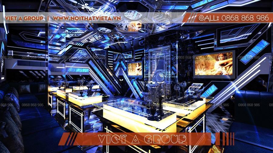 Mẫu phòng karaoke hiện đại đẳng cấp 04