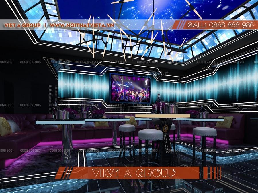 Phòng karaoke hiện đại vip nhất hiện nay