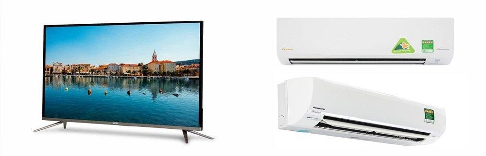 Giá đầu tư mua tivi điều hòa