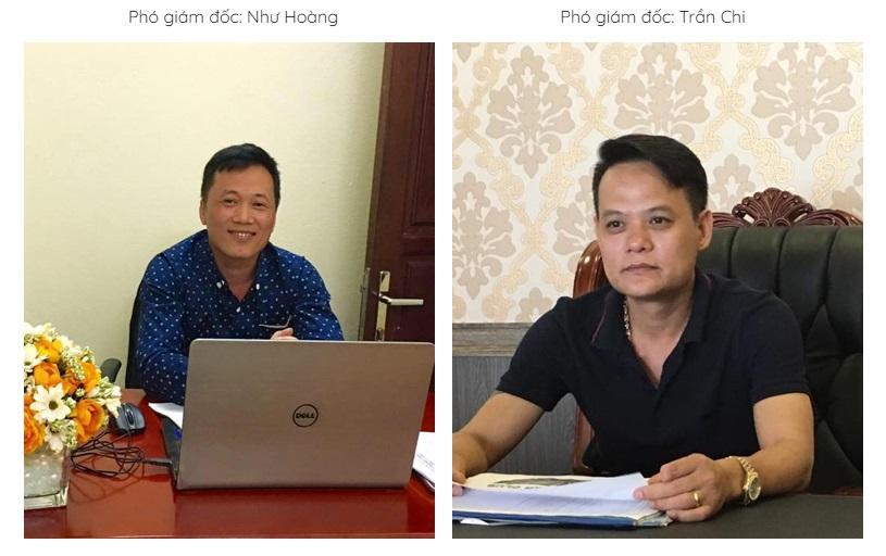 Nhân sự điều hành tại VietA Group