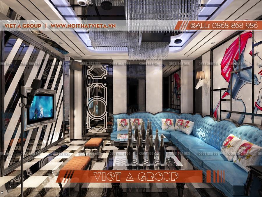 Chất lừ với phòng karaoke đảng cấp diện tích 20 m2
