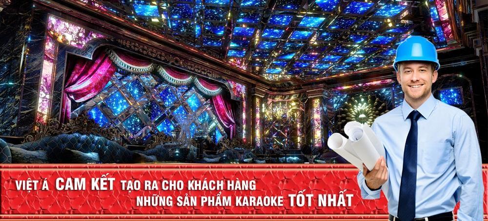 Viet A cam kết thiết kế karaoke tốt nhất cho bạn