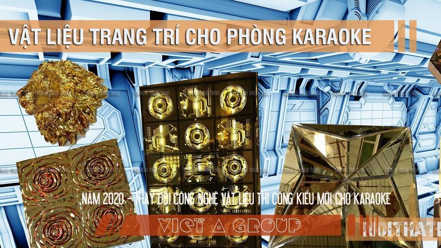 Thiết kế karaoke thay đổi theo công nghệ và vật liệu mới