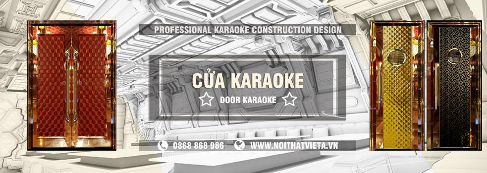 Cung cấp cửa cách âm, cửa inox cho phòng karaoke
