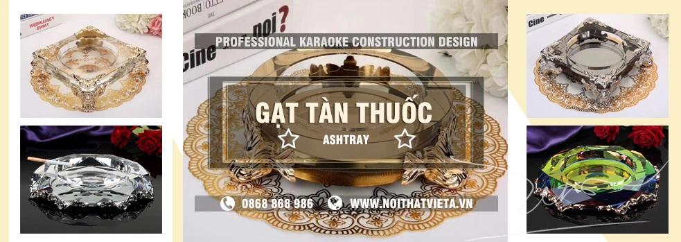 Gạt tàn thuốc lá cho phòng hát karaoke kinh doanh