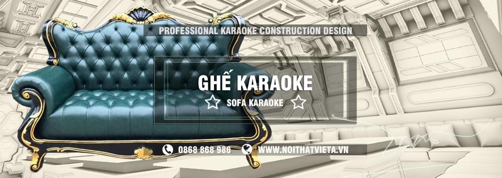 Ghế sofa Karaoke, ghế karaoke cổ điển chất lượng giá rẻ nhất