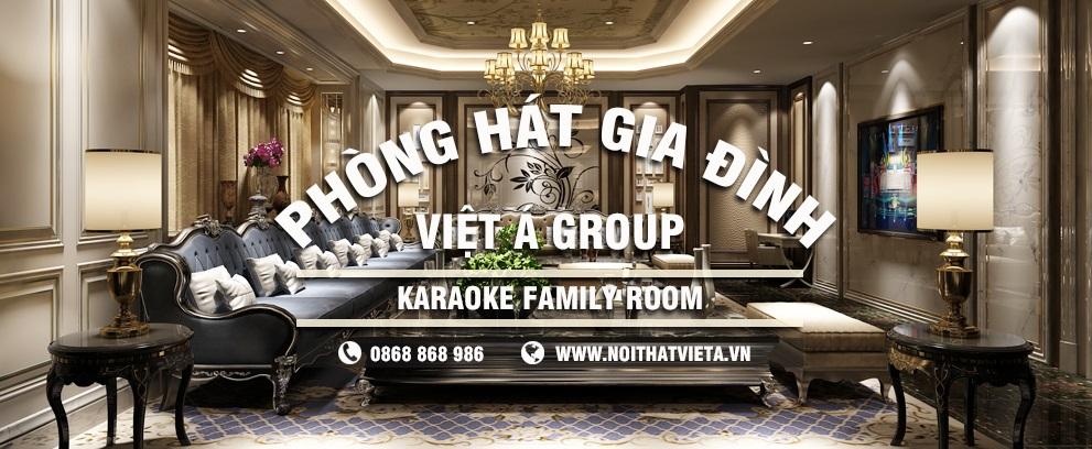 Thiết kế phòng karaoke gia đình ấn tượng đẳng cấp