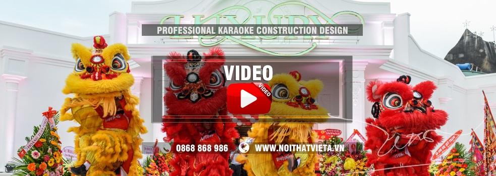 Video mẫu phòng karaoke tại Việt Á