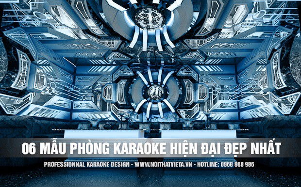 06 mẫu phòng karaoke hiện đại đẳng cấp phong cách mới