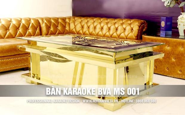 Bàn karaoke BVA MS 001