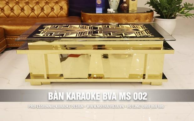 Bàn karaoke BVA MS 002