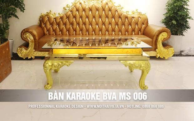 Bàn karaoke BVA MS 006