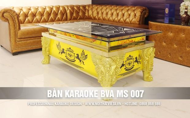 Bàn karaoke BVA MS 007