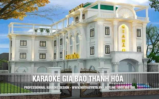 Công trình karaoke Gia Bảo Luxury Thanh Hóa