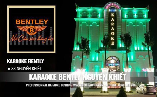 Công trình karaoke Bently 33 Nguyễn Khiết, Hà Nội