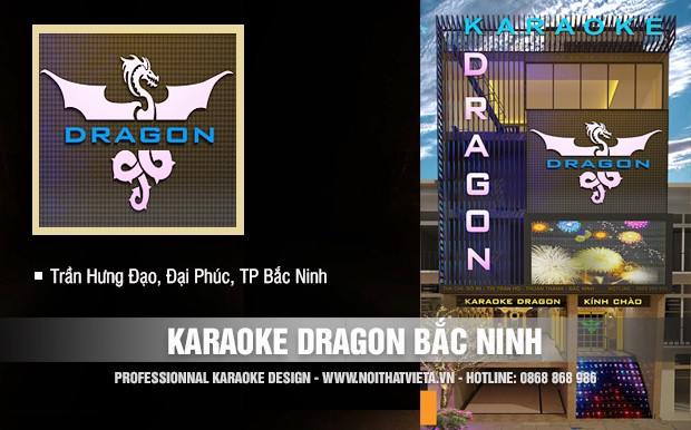 Công trình karaoke Dragon, Đại Phúc, TP Bắc Ninh