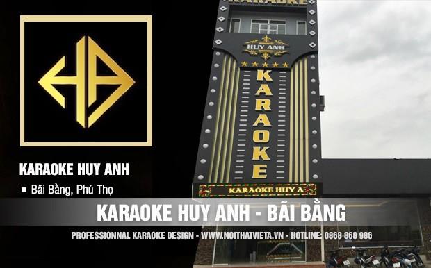 Công trình karaoke Huy Anh, Bãi Bằng, Phú Thọ