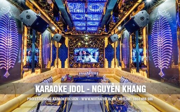 Công trình karaoke idol 16 Nguyễn Khang Cầu Giấy Hà Nội