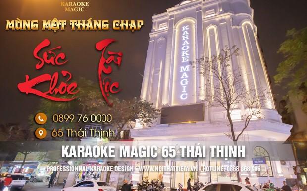 Công trình karaoke Magic 64 Thái Thịnh