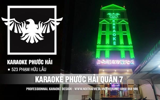 Công trình karaoke Phước Hải quận 7, TP Hồ Chí Minh