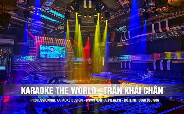 Công trình karaoke The World,Trần Khát Chân, Hà Nội