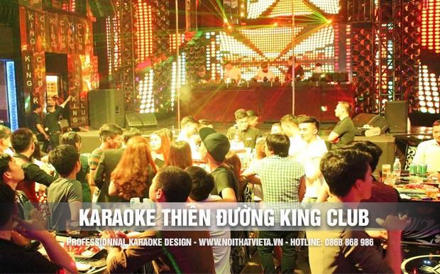 Công trình karaoke Thiên Đường King Club Quảng Trị