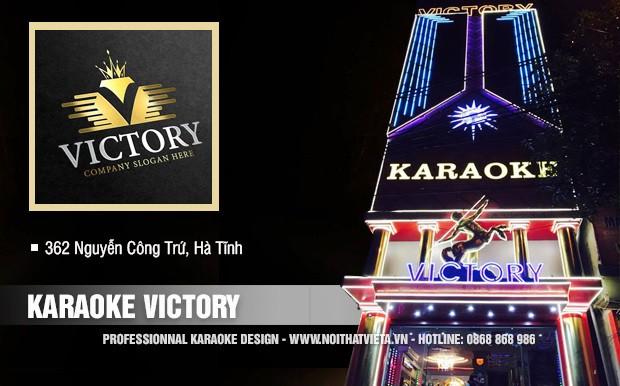 Công trình quán karaoke Victory TP Hà Tĩnh
