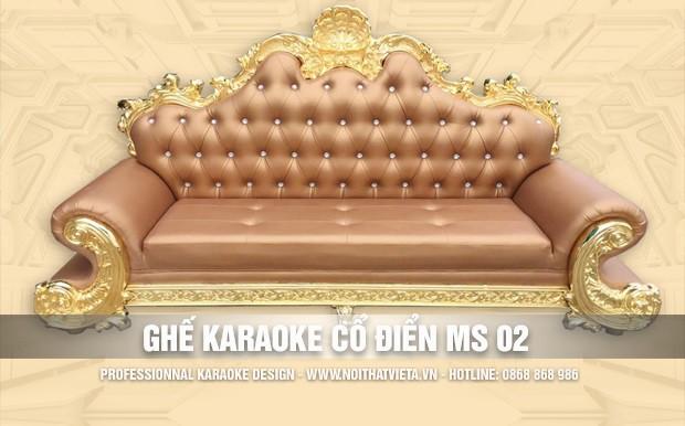 Ghế karaoke cổ điển MS 02