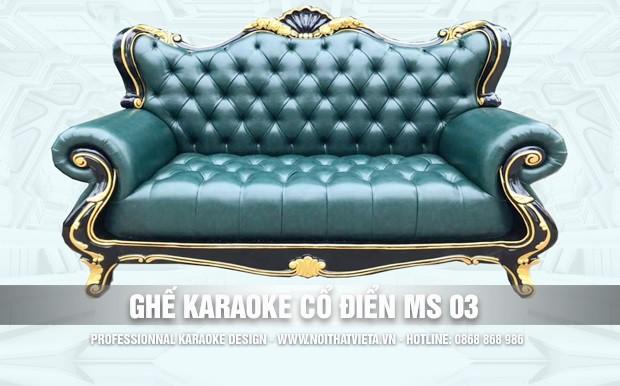 Ghế karaoke cổ điển MS 03