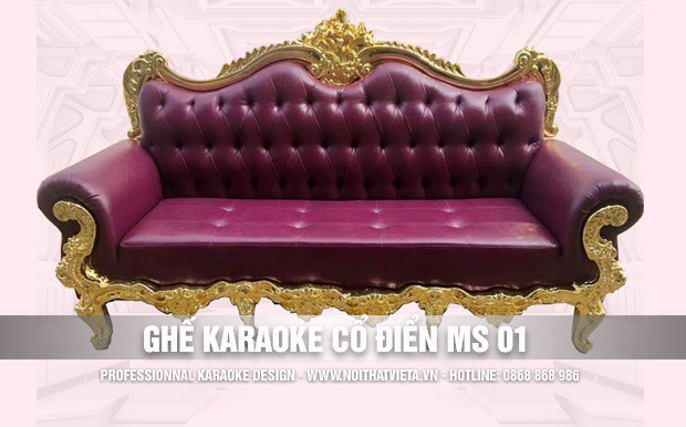 Ghế karaoke cổ điển MS 01