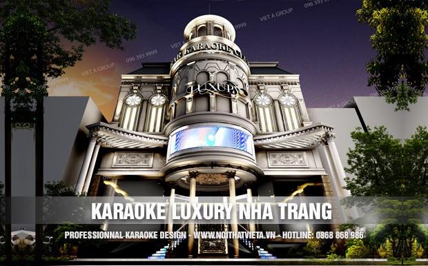Công trình karaoke Luxury TP Nha Trang