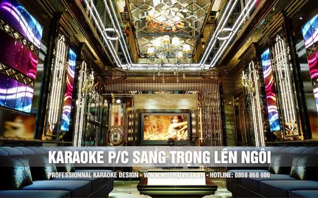 Phòng karaoke sang trọng ngày càng được ưa chuộng