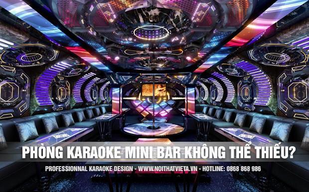 Tại sao nên làm phòng karaoke mini bar cho quán của bạn?