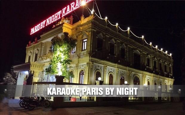 Công trình karaoke Paris By Night ấn tượng vip nhất TP Yên Bái
