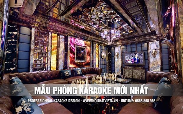 Mẫu phòng karaoke mới nhất tại Việt Á Group