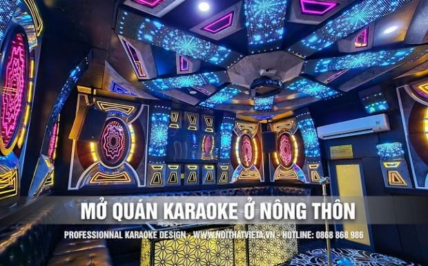 Mở quán kinh doanh karaoke ở nông thôn những điều cần biết