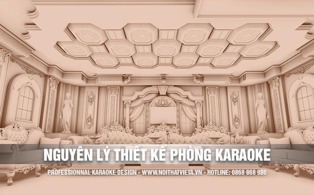 Nguyên lý cơ bản trong thiết kế phòng hát karaoke