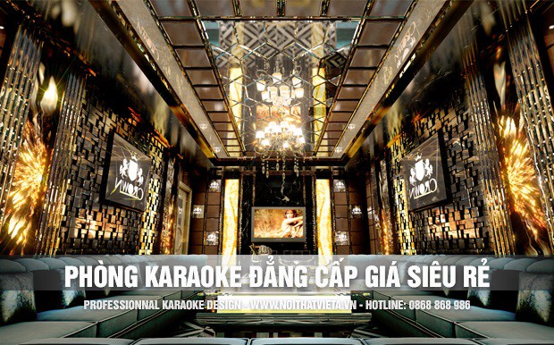 Ý tưởng phòng karaoke sang trọng đẳng cấp với giá siêu rẻ