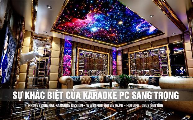 Phòng karaoke sang trọng có gì khác biệt ?