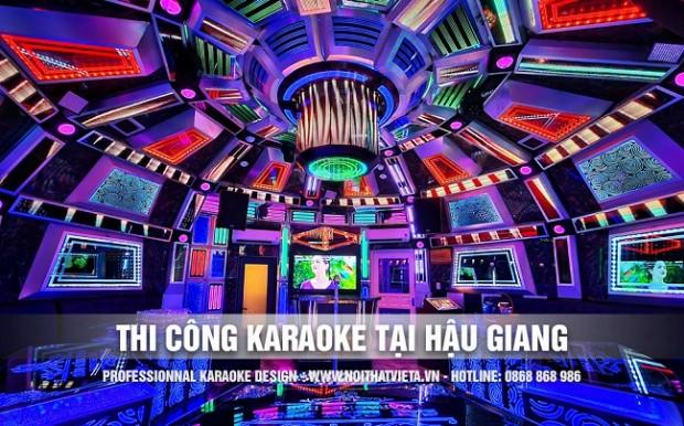 Thi công karaoke tại Hậu Giang
