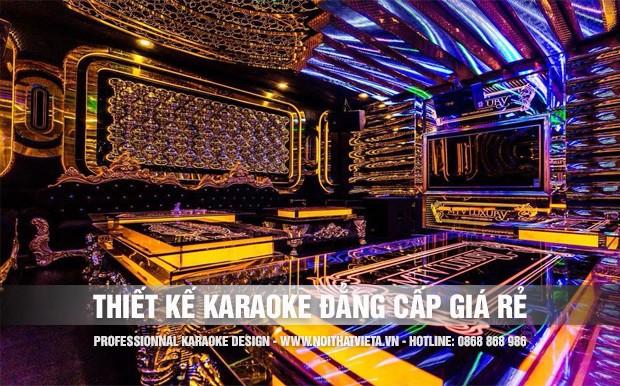 Làm thế nào để thiết kế phòng karaoke đẳng cấp nhưng giá rẻ?