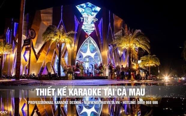 Thiết kế karaoke tại Cà Mau