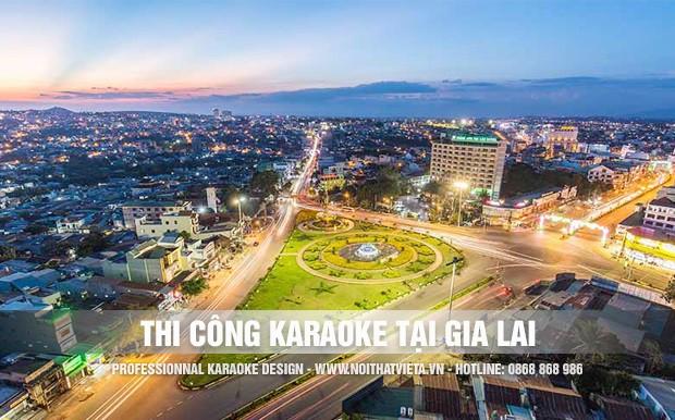 Việt Á thiết kế thi công karaoke uy tín nhất tại Gia Lai