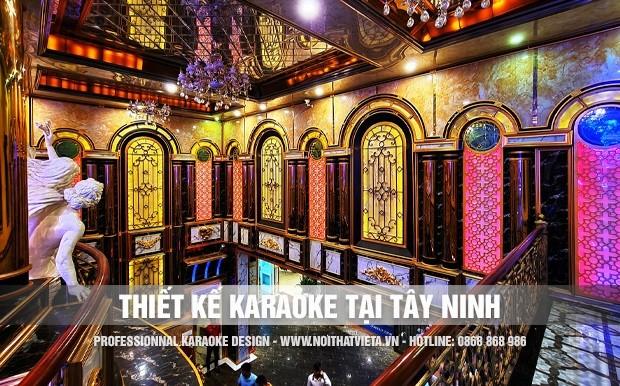 Thiết kế karaoke tại Tây Ninh