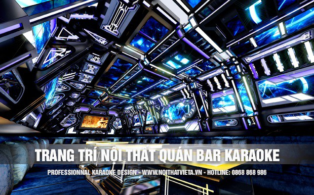 Tư vấn thiết kế trang trí cho nội thất quán bar karaoke