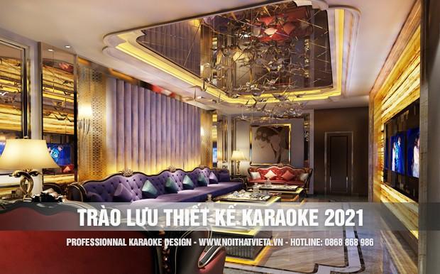 Trào lưu thiết kế karaoke năm nay có gì khác?