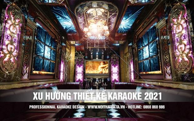 Xu hướng thiết kế phòng hát karaoke năm 2021