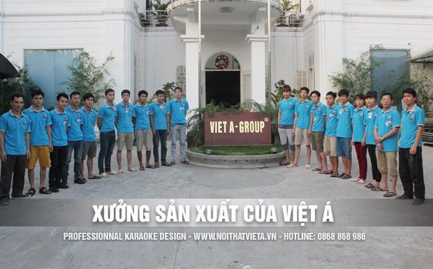 Xưởng sản xuất karaoke của Việt Á